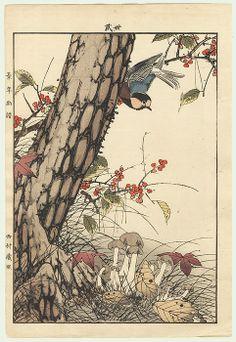 single oban original / autumn group / 1891  / imao keinen / 1845 - 1924