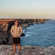 Roadtrip  #roadtrip#australia#southcoast#greatoceanroad#cliffs#sea#nullabor#throwback#goodtimes#travel#campervan#photgraphy#nikon#d5100#hoodie#sunset by jannick_nrw