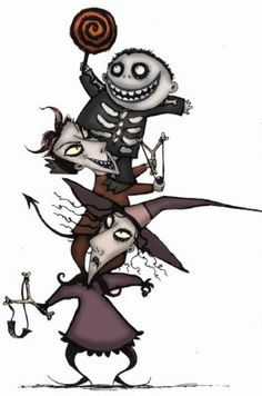 ❤ The Nightmare Before Christmas | Tattoo design concepts ...