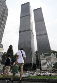 Tobu World Square in Nikko - twin towers World Trade Center Nyc, Trade Centre, New York Street, New York City, Airport Design, St Peters Basilica, Tokyo Tower, Manhattan New York, Amazing Buildings