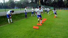 Blazing Soccer Speed: Agility Ladder & Hurdles