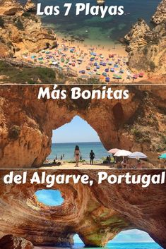 An insider list with the seven most beautiful and best beaches in Algarve, so that the next time you visit Portugal, you should make sure to visit them. portugal, Beaches in Algarve: 7 Best & Most Beautiful Ones With a Map Portugal Travel Guide, Europe Travel Guide, Spain Travel, Travel News, Travel Guides, Visit Portugal, Spain And Portugal, Best Beaches In Portugal, Europe Destinations