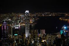 Victoria Harbour At Night, Hong Kong | by dilipv.koshy