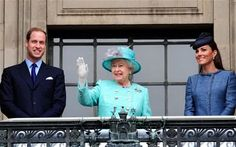 the same event with the Queen and Prince William.