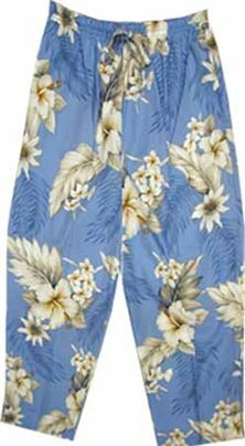 PL 344-3162 Ladies Capri Pants [Blue] product photo