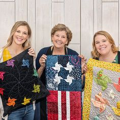 Join us for Triple Play from Missouri Star Quilt Co. featuring three unique twists on classic MSQC Quilt Patterns. Watch the free quilt tutorial today! Missouri Star Quilt Tutorials, Quilting Tutorials, Msqc Tutorials, Quilting Projects, Quilting Ideas, Star Quilt Blocks, Star Quilts, Pinwheel Tutorial, Pinwheel Quilt