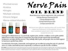 Young Living Essential Oils: Nerve Pain
