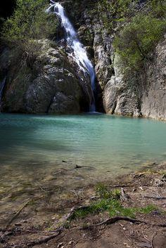 Hotnitsa Waterfall, Bulgaria, near Veliko Tarnovo
