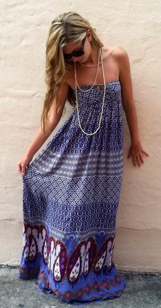 Open Road Maxi Dress