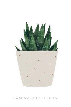 Image of Succulent Kaktus Illustration, Art And Illustration, Watercolor Plants, Watercolor Paintings, Art Paintings, Plant Painting, Plant Art, Wallpaper Minimalista, Cactus Vert