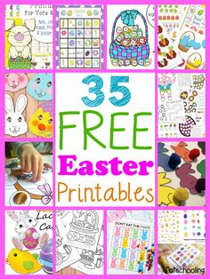 35 Free Easter Printables