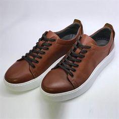 9446df7598688 Erkek Bağcıklı Taba/Siyah/Lacivert Hakiki Deri Yazlık Ayakkabı Dft-101