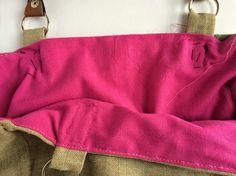 elcuadernodeideas: Bolso de lino bordado