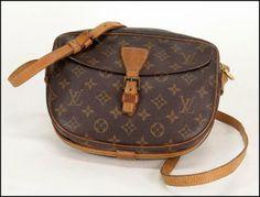 Louis Vuitton Signature Canvas 'Jeune Fille' Shoulder Bag : Lot 133-9104 #louisvuitton #lv #couture