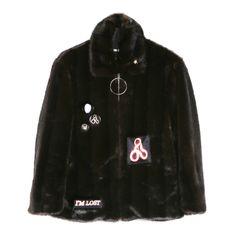 Hyein Seo Cropped Faux Fur Jacket / Shop Super Street - 1