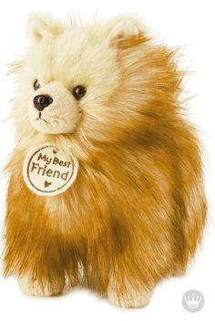 Make your home a happy one by adopting this plush pooch. Known for their long, soft fur and perky personalities, your child will love having this little Pom Pom Dog plush toy as a new playmate! Shop for more kids' gift ideas and toys like this one at Hallmark.