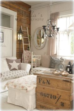 Shabby living room picture