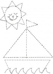 Crafts,Actvities and Worksheets for Preschool,Toddler and Kindergarten.Lots of worksheets and coloring pages. Shapes Worksheets, Tracing Worksheets, Kindergarten Worksheets, Worksheets For Kids, Printable Worksheets, Preschool Writing, Preschool Learning Activities, Preschool Curriculum, Preschool Activities