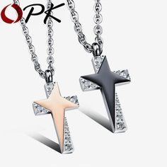 Stainless Steel Mountain and Ocean Wave Engraved Puzzle Matching Pendant Necklace for Mens Womens Gnzoe 2 Pcs Couples Necklace