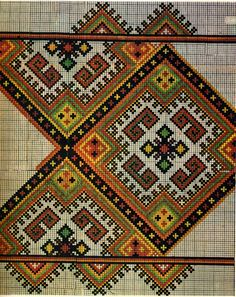 I have written about the Hutsul Nyzynka embroidery, which is considered to be the most typical. But Cross stitch embroidery has been made i. Just Cross Stitch, Cross Stitch Borders, Cross Stitch Kits, Cross Stitch Designs, Cross Stitching, Cross Stitch Patterns, Folk Embroidery, Cross Stitch Embroidery, Embroidery Patterns