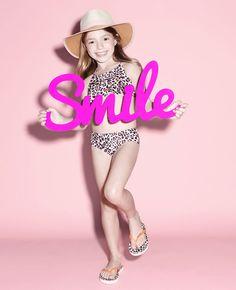 Baby Girl's Leopard Bikini - Bardot Junior