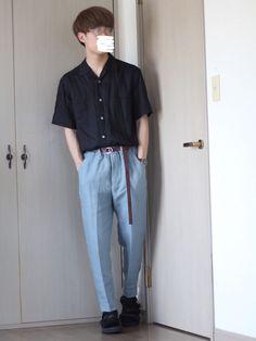 こんにちは    この間ゾゾさんで買ったアイテム使ったコーデ 最近黒パンツが多かったので久々に色物使いましたっ インスタにて投稿したコーデなんですがWEARでもアップします    最近ふと私服用メガネを集めてみたら6個くらいありました 買い過ぎですかね⁇ww    【 Instagram 】o____nas プロフから飛べます 服とか色々投稿してるやつですっ    ではではまたっ