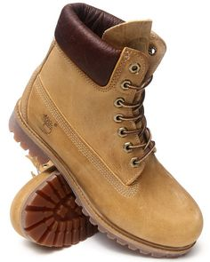 "Timberland - Men Wheat Heritage 6"" Premium Boots Buy Now"