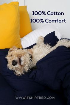 Our cotton is knitted and not woven, like regular bed linen. This means that it moves with your body while you sleep and provides the most comfortable sleep experience available! Bed Linen, Linen Bedding, Love Affair, Bedroom Inspiration, Duvet Cover Sets, Puppy Love, Sleep, Warm, Kids