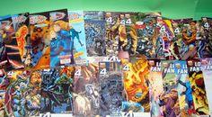 Lote de comics de LOS CUATRO FANTASTICOS-29 NUMEROS