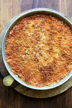 just-baked zucchini parm