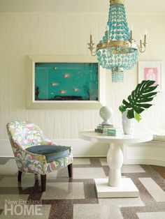 1000 images about dining rooms on pinterest traditional homes dining rooms and chairs - Fish tank dining room table ...