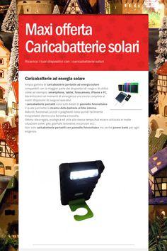 Maxi offerta Caricabatterie solari