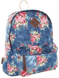 POPSUGAR Shopping: Steve Madden Too Kool For School Back Pack (Denim) - Bags and Luggage