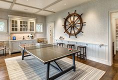 Nautical game room