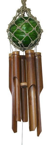 Features:  -Bamboo tubes are hand tuned for a warm relaxing tone.  -Handcrafted by artisans on the beautiful island of Bali.  -Perfect as a gift for yourself or others.  Product Type: -Wind chime and