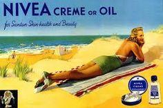 Nivea Werbung Großbritannien 1930er Jahre