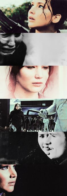 """Katniss: """"As long as you can find yourself, you'll never starve."""" #thg"""