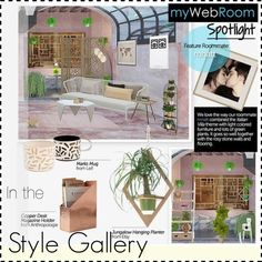 MWR featured user by mywebroom on Polyvore featuring interior, interiors, interior design, home, home decor and interior decorating