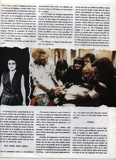 Page 3 of  Vogue Mexico interview with Angelique Rockas
