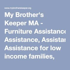 My Brother's Keeper MA - Food Assistance, Christmas Assistance ...