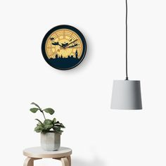 """You can fly!"" Clock by Lanfa 