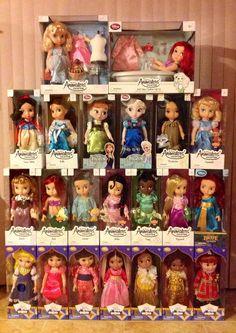 """Disney Store """"Animators Collection"""""""