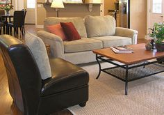 Living Room Layout Ideas For...... like the textures and furniture