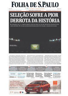Copa 2014 - Folha de S. Paulo