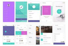 アプリやスマートフォンデザイン時に参考にしたいUIキット「DO App UI Kit」