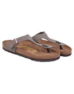 38fb4125f183 Birkenstock Gizeh Sandals - Stone