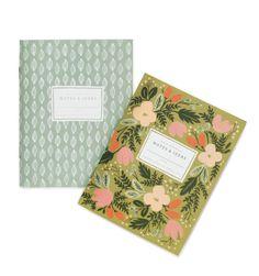 Moss Garden Pair of Pocket Notebooks