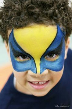 Gotta try this on Zayden for Halloween 2014