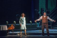 - Premiere night (20 february) / Seara premierei (20 februarie) - Shoushik Barsoumian (Gilda) & Lucian Petrean (Rigoletto)