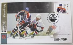 Canada 2017 NHL Hockey Legends - Wayne Gretzky First Day Cover | eBay Wayne Gretzky, Canada Post, First Day Covers, Nhl, Hockey, Legends, Stamps, Baseball Cards, Store